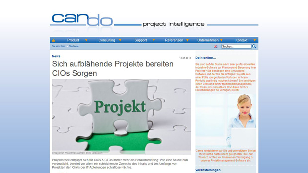 Can Do project intelligence